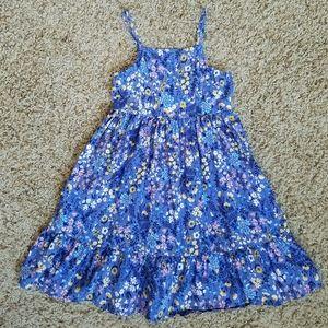 Old Navy Blue Purple Floral Sundress